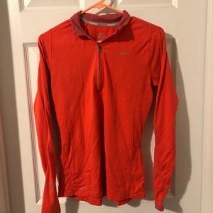 Nike Dri Fit 1/4 ZIP Long Sleeve Shirt